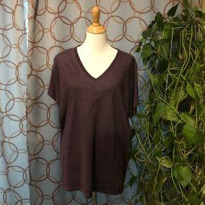 Nike Dri-Fit Slim Fit Purple Short Sleeve T-Shirt